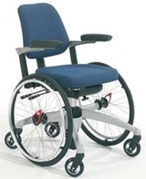 Arbeitsrollstuhl mit Rollstuhlfunktion