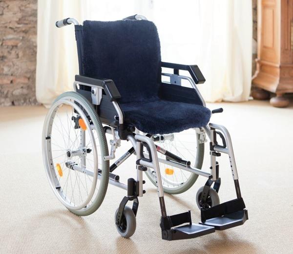 Rollstuhl Lammfell