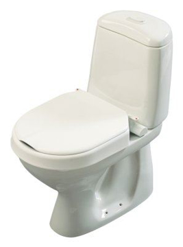 Toilettenerhöhung fest montiert