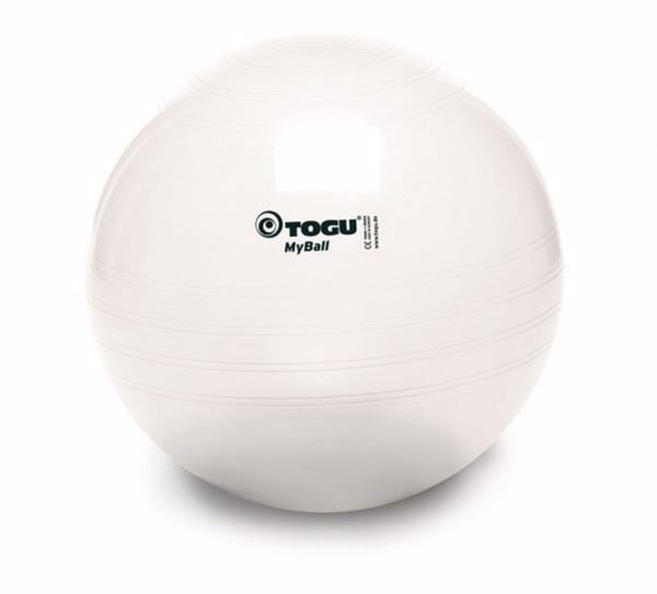 Gymnastikball MyBall transparent TOGU