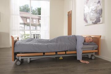 Pflegebett Völker 5384 Kepler mit Niedrigeinstieg