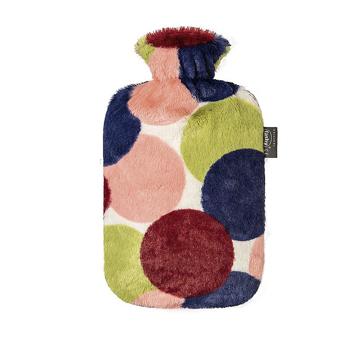 Wärmeflasche mit Flauschbezug Fashy