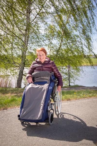 Rollstuhl Schlupfsack Royal Exklusiv