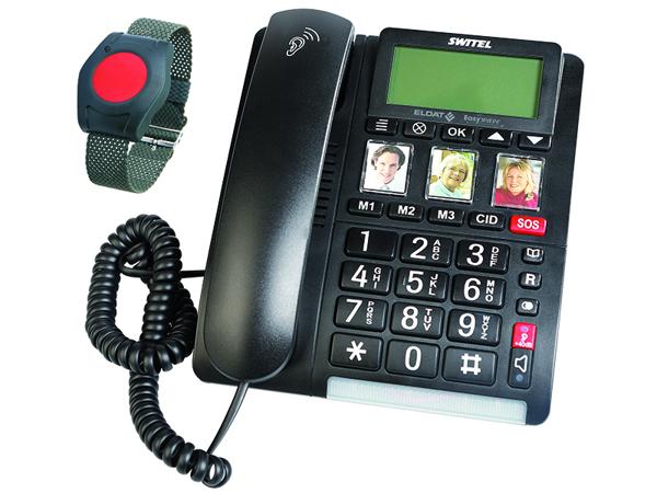 Telefon Easywave Fon inkl. Armbandsender