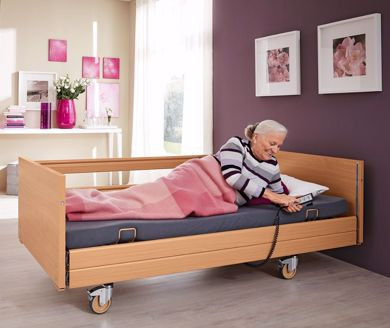 Bild für Kategorie Pflegebett