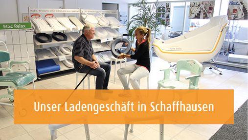 Ladengeschäft Strack AG Schaffhausen