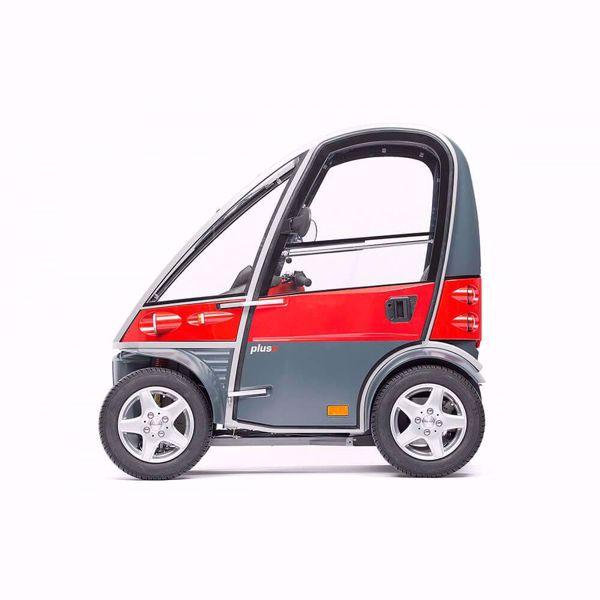 Elektromobil mit Dach Kyburz PLUS II